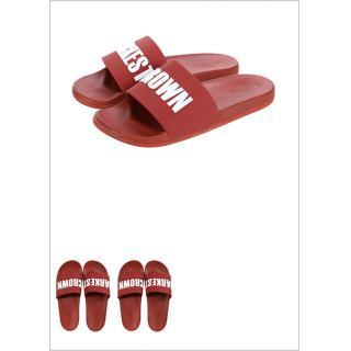 premium selection 1109c 17af6 Men's Comfortable Letter Flip Flops L 42 - MINISO Australia