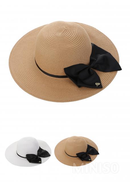 0d012418446 Bowknot Straw Hat