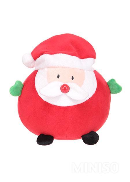 plump santa clause plush toyred - Stuffed Santa Claus