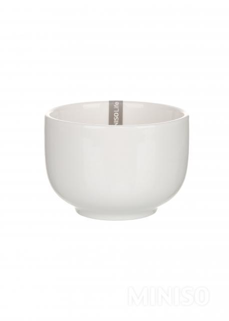15 Mix Size White Round Ceramic Bowls Dolls House Miniatures Ceramic 10588