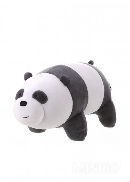 We Bare Bears - Plush Toy  Panda  (Gray White) ef402ce07d77