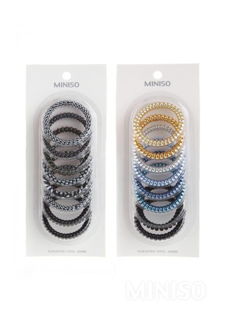 Small Spiral Hair Tie 8 Pack acec0c537a5