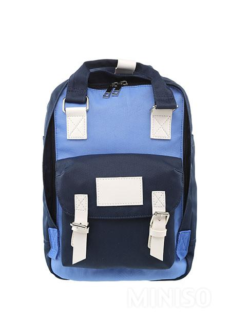 Small Size Canvas Backpack - Blue 2f7de8bde1367