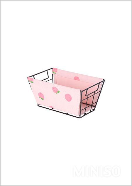 Baby//Child//Adult Colorful Storage /& Preservation Box Polka Dot Champagne