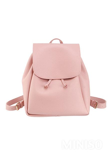 Casual Style Backpack(Pink)