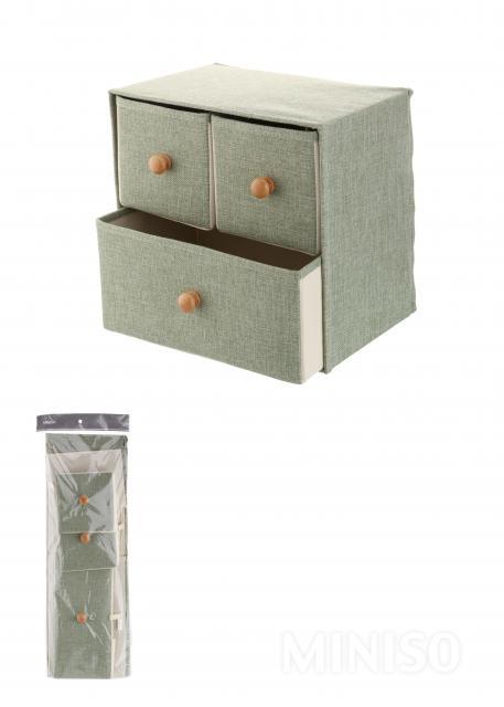 3-drawer Storage Box(Green)  sc 1 st  MINISO Australia & 3-drawer Storage Box(Green) - MINISO Australia